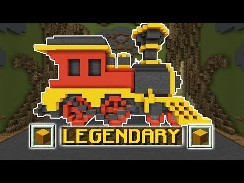 ONLY VOTE LEGENDARY CHALLENGE (Minecraft Build Battle)