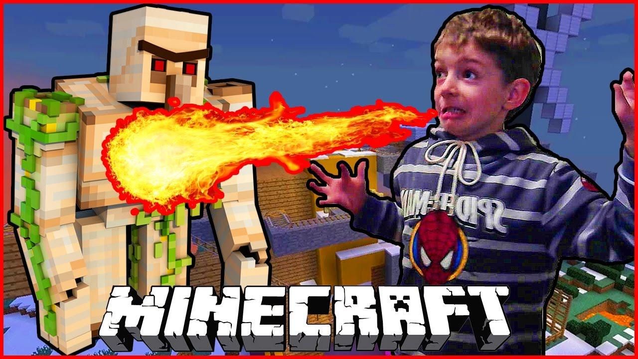 Minecraft майнкрафт для детей 3 - YouTube
