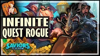 INFINITE TESS QUEST ROGUE - Saviors of Uldum Hearthstone