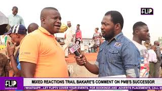 MIXED REACTIONS TRAIL BAKARE