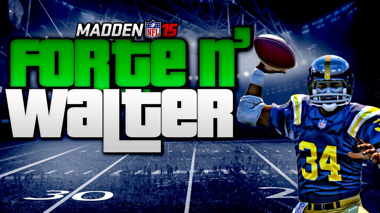 Madden nfl 15 ultimate team mvp forte and qb walter payton gameplay mut 15 youtube - Walter payton madden 15 ...