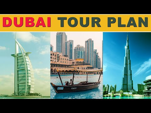 Dubai Tour Plan with Budget | Complete Dubai Tour Guide from India | Dubai Tour from India