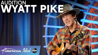 EMOTIONAL! Wyatt Pike Wrote His Audition Song For His Sister - American Idol 2021