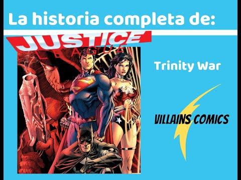 Liga de la Justicia Trinity War