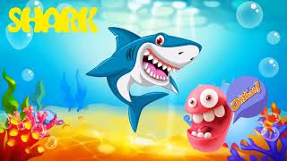 Sea Animals learn for kids | Learn Sea Animals + Water Animals Names and sounds