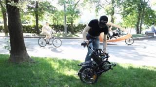 Электровелосипед Husky 350 W(Малые габариты рамы и колес позволяют хранить его в квартире, перевозить в багажнике автомобиля. Крепкая..., 2015-04-15T14:38:43.000Z)