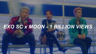 [with MV] EXO-SC (세훈&찬열) (Feat. MOON) - '1 Billion Views (10억뷰)' Easy Lyrics