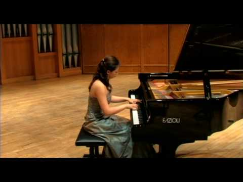 J.S. Bach Toccata in E minor played by Xu, Hui