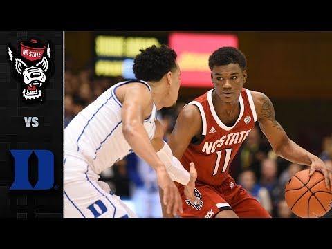 NC State vs. Duke Basketball Highlights (2018-19)