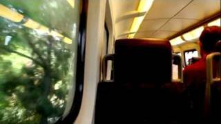 A Day Aboard the Metrolink train and the L.A Metro Subway - Tour in HD