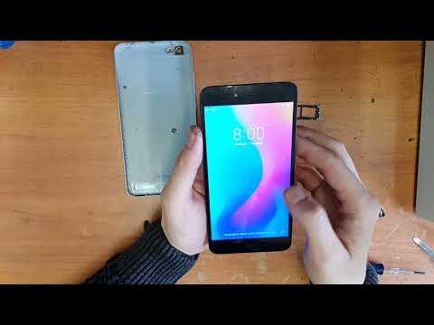 Xiaomi Redmi Note 5A Замена аккумулятора
