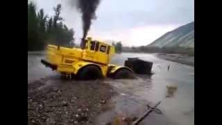 трактор просто супер, сделал невозможное