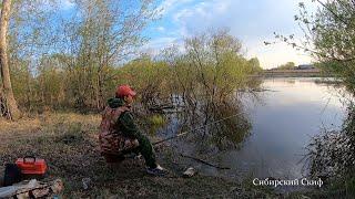 Рыбалка на Донку в Деревенском Парке Ловля Окуня Удочкой Донкой Поплавочкой