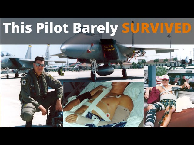 Fighter Pilot EJECTS Past MACH 1 and SURVIVES - this flight training story is super  inspirational