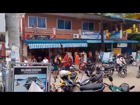 Cambodia Sihanoukville travel 2016 - Boat port to islands in Sihanoukville