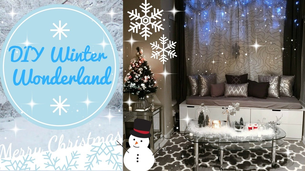 diy winter wonderland christmas decorations angie lowis - Winter Wonderland Christmas Decorations