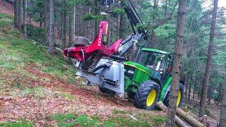 Traktorprozessor Hypro 755 (Harvester) - Hypro Hill
