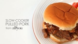 How To Make The Best Slow-cooker Pulled Pork | Myrecipes