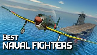 Best naval fighters / War Thunder