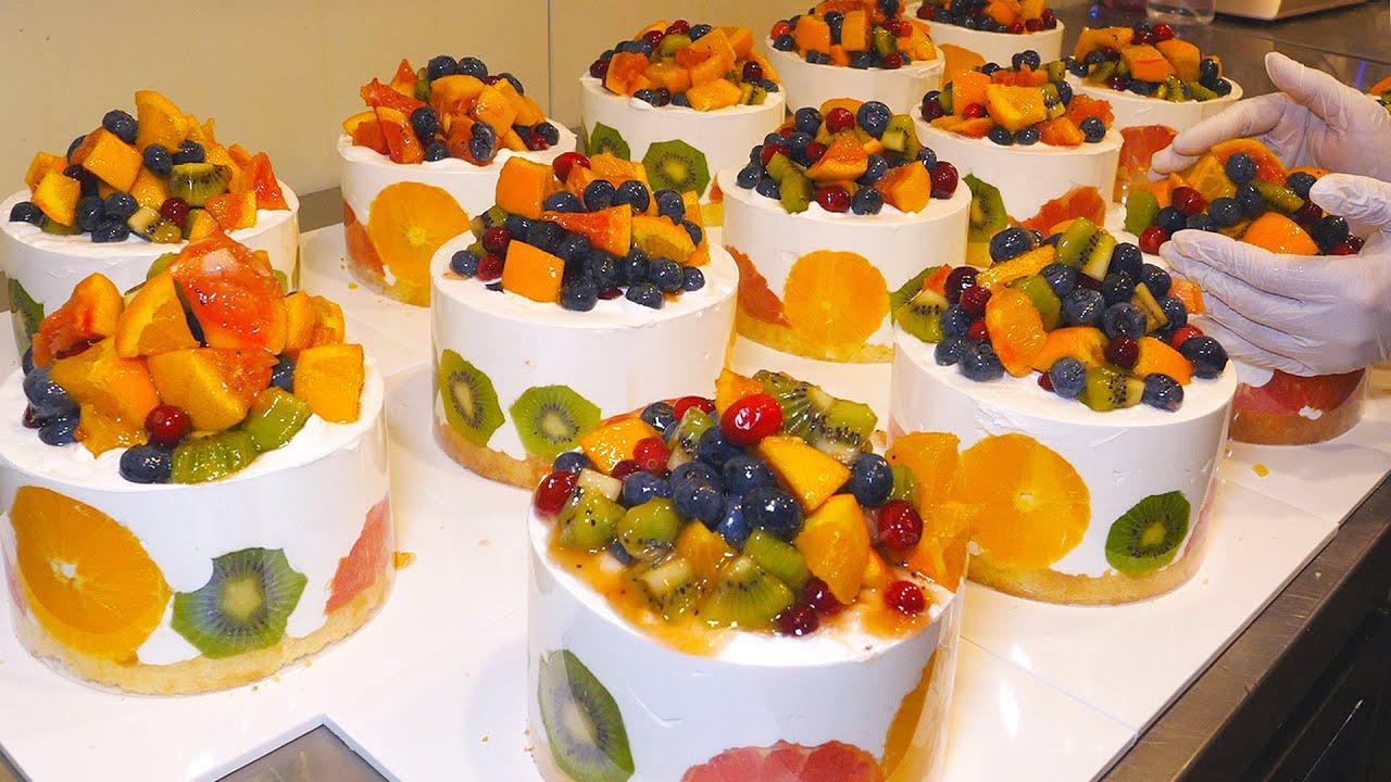 시간순삭 몰아보기~제주도 빵지순례 (케익,빵,도넛 ) / Colorful and beautiful ! Cake Bread BEST5