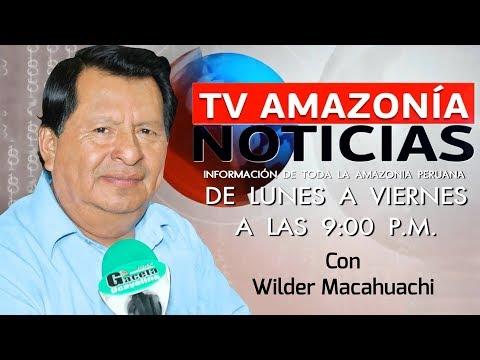 """Programa """"Tv Amazonia Noticias"""" Edición viernes 20 de Octubre"""