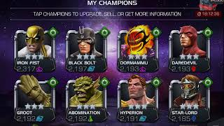 MCOC Is selling 3-Star champs to get 4-Star shards worthy?