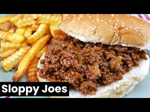 Incredibly Easy Sloppy Joes