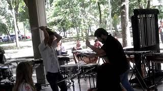 Symbiosis (A Rudimental duet snare drum duet) by Carlos Andrés Paniagua and Federico Cardona