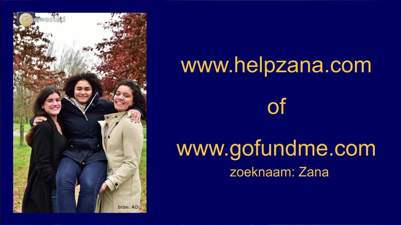 Crowdfundingsactie voor Zana