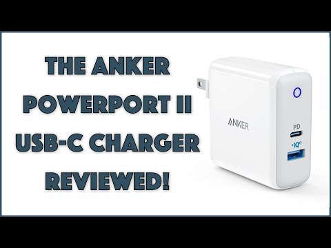The Cool Anker PowerPort II USB C Charger - REVIEWED
