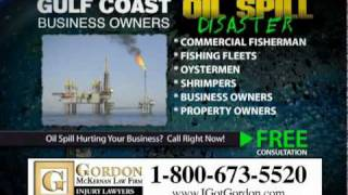 Gulf Coast Oil Spill Attorney Gordon McKernan - Oil Spill Disaster