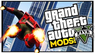 GTA 5 Iron Man Mod : GTA 5 Mod Showcase Episode 28