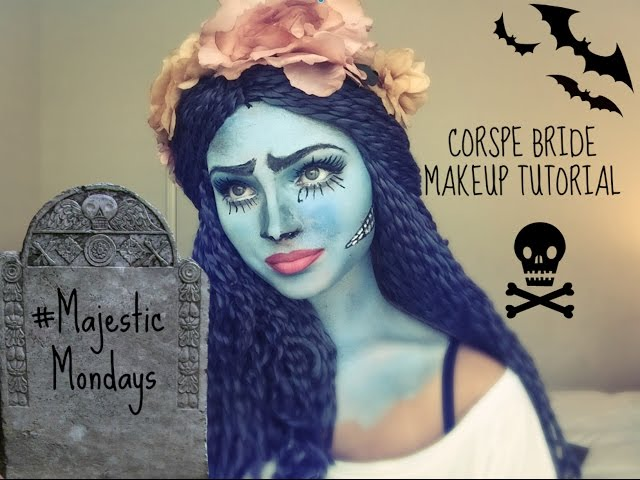 How To Do Corpse Bride Inspired Halloween Makeup To Satisfy Your