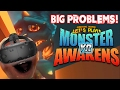 Midget Apple Plays - Monster Awakens VR: BIG PROBLEMS!