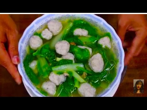 Family healthy food how to make fresh fish ball soup with for How to make fish soup