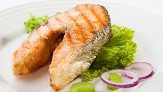 Вкусный жареный лосось. Самый простой рецепт стейка лосося жареного на сковороде.(, 2016-02-24T15:59:14.000Z)