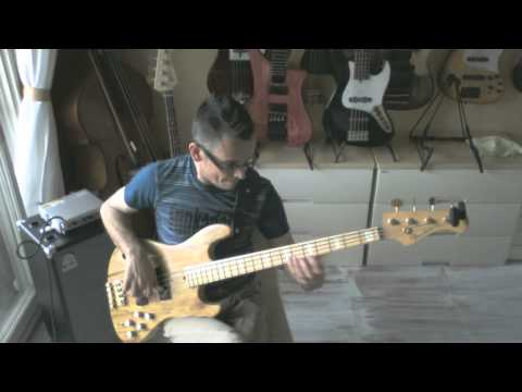 Very Fast One String Ostinato Lick For bass!