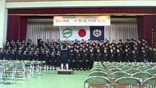 卒業式の時に歌ったYELLです。