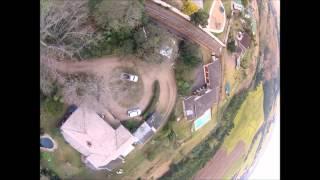 biggest quadcopter  crash yet