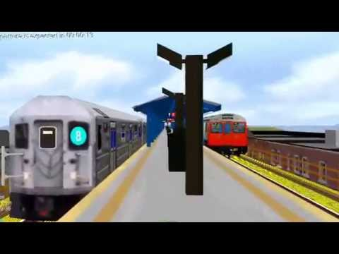 BVE Train - London Underground Stock Train Express Line