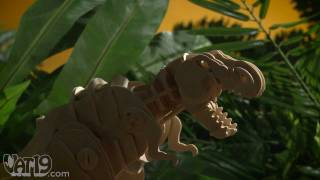 R/C Do-it-Yourself Wooden Dinosaur Kits