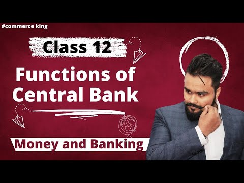 #59, Functions of central bank, CRR, SLR (Class 12 macroecon