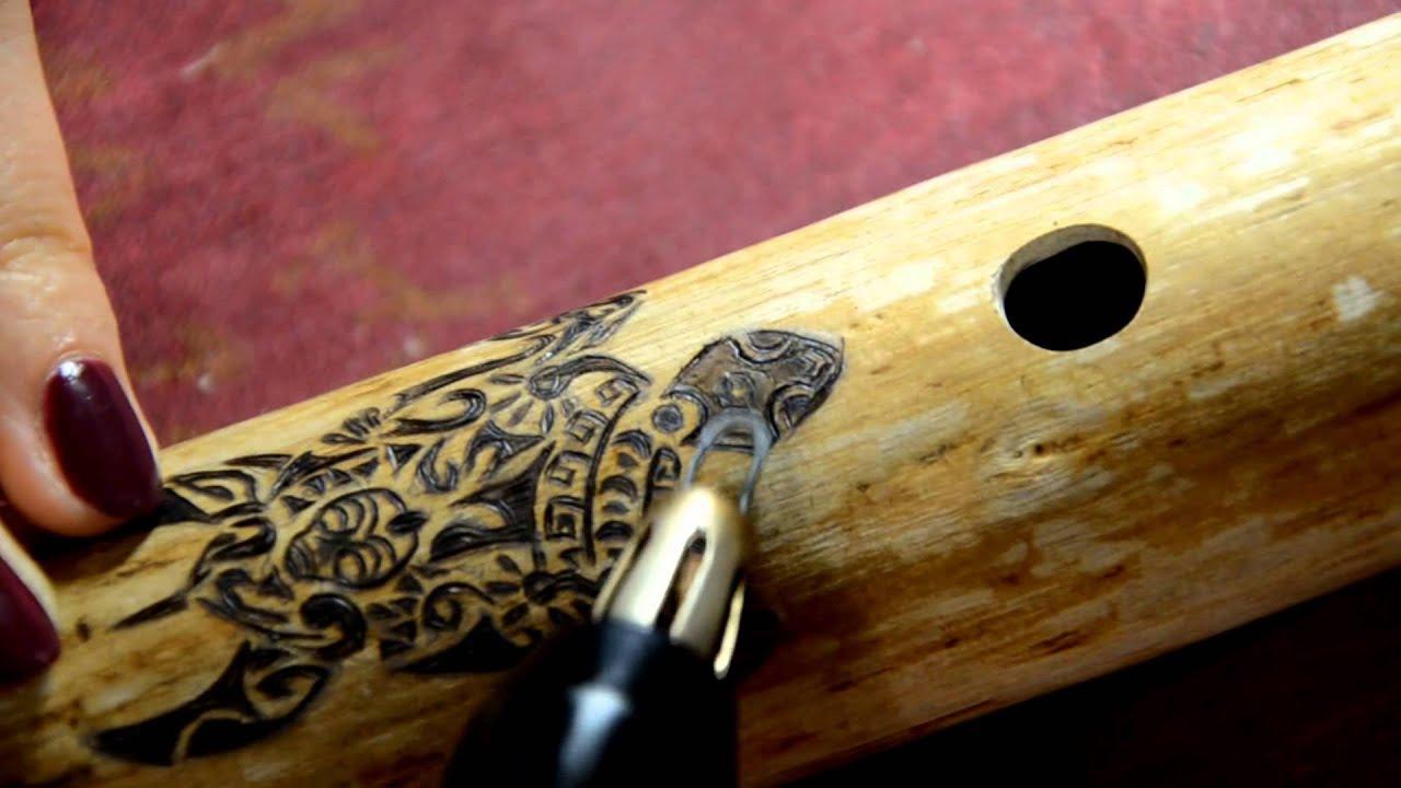 Мастерская Че - выжигание по дереву, оформление инструментов.