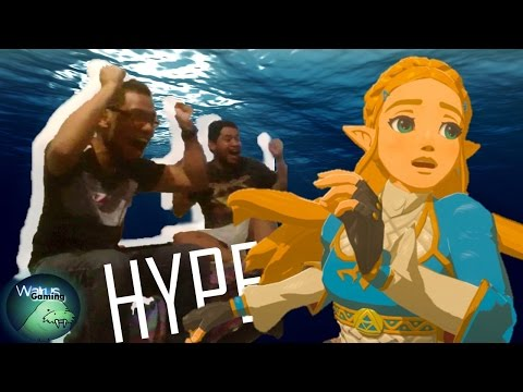 The Legend of Zelda Breath of the Wild [LATINO] - Switch Presentation 2017 Vídeo Reacción