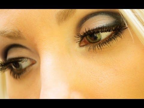 Подробный пошаговый урок  красивого макияжа для глаз.