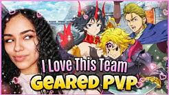 BLUE LILLIA, DEMON MELIODAS & HOWZER Geared PvP| Seven Deadly Sins Grand Cross: Global