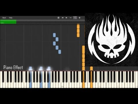 The Offspring - Hit That (Piano Tutorial Synthesia)