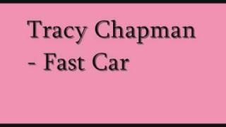 tracy chapman - fast car ( with lyrics )