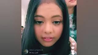 Aulia dan Putri live instagram  LIDA Tgl 25 April 2018