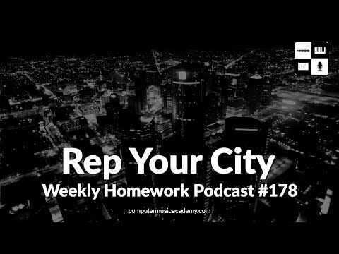 Rep Your City (2017) - Weekly Homework Podcast #178